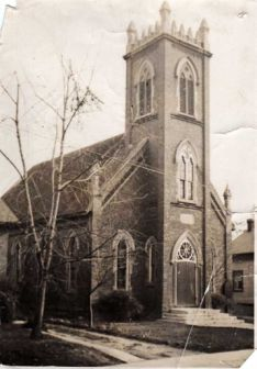 Weston Presbyterian Building - historical