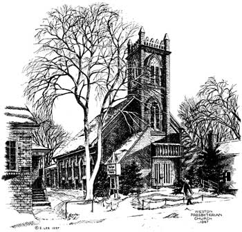 Weston Church Sketch